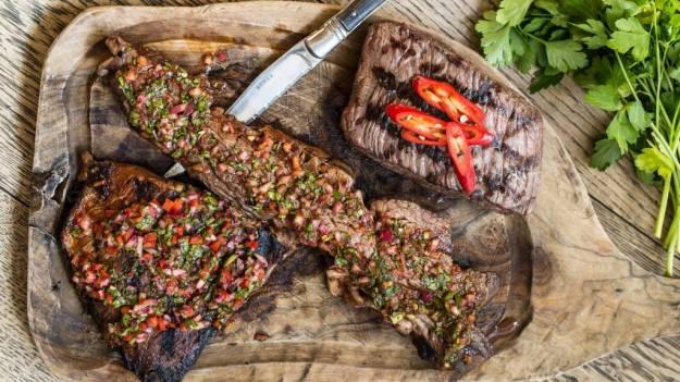 brazilian steakhouse food cooking