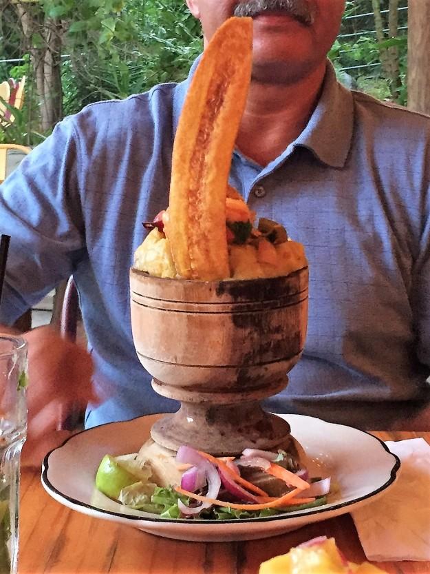 exotic puerto rico food eating dra martha castro noriega tijuana