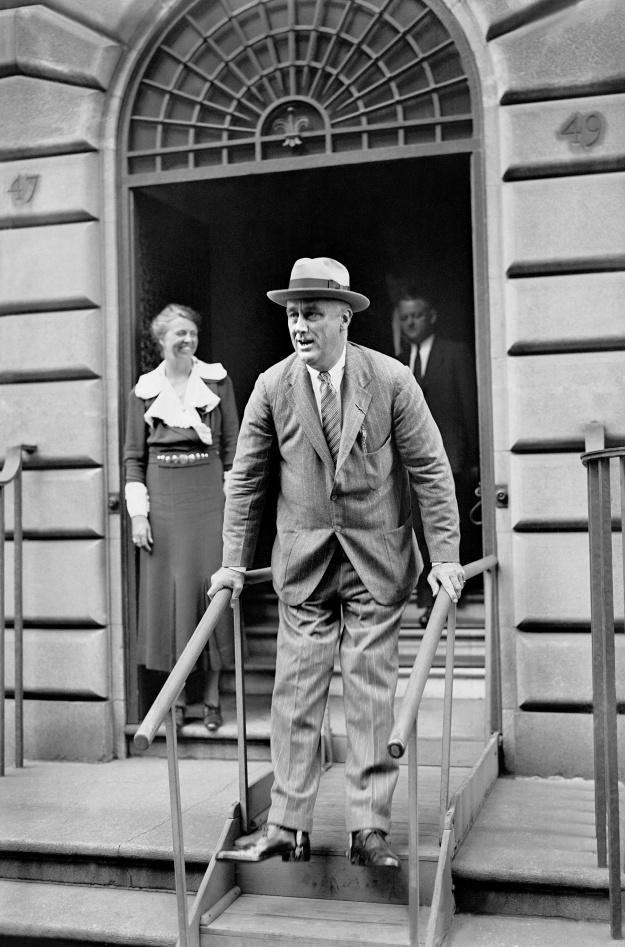 Roosevelt FDR President of USA