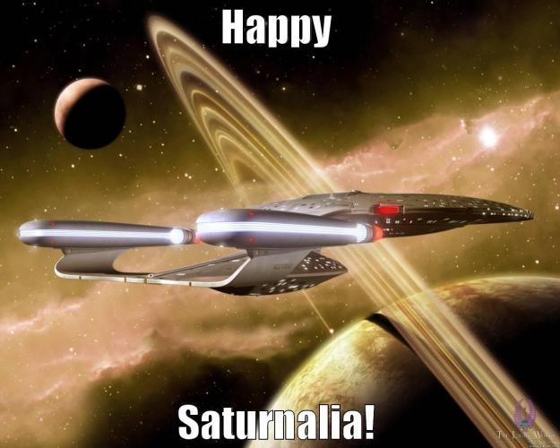 Happy Saturnalia 2018