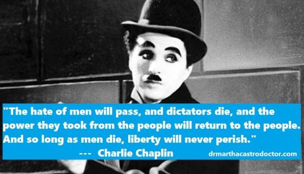 charlie chaplin humor hate dra martha castro noriega tijuana