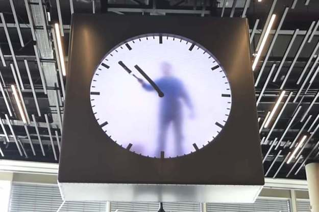 Schiphol Airport Amsterdam GIANT CLOCK dra martha castr mexico