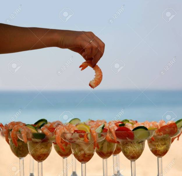 shrimp cocktail dra martha castro tijuana mexico